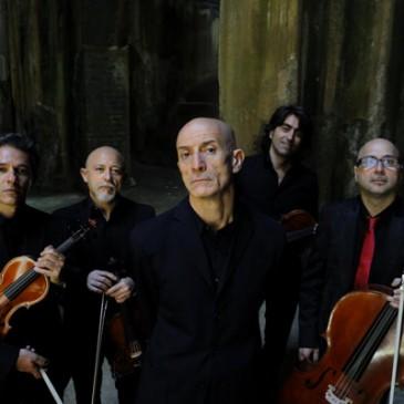 """Peppe Servillo e Solis String Quartet in """"SPASSIUNATAMENTE"""" – MERCOLEDI 26 AGOSTO – CASTELLO DI MILAZZO ORE 21.30"""